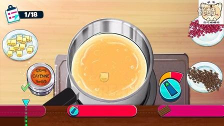 【动漫人物私房料理】料理3朵拉做纸杯蛋糕,4399小游戏!