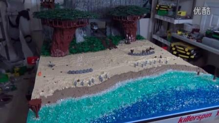 积木砖家乐高LEGO 星球大战场景MOC Building Kashyyyk