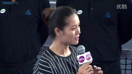 【颁奖典礼】WTA2015珠海大威廉姆斯def.普利斯科娃 李娜出席