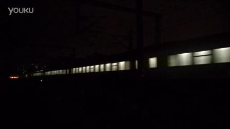 11月6日涿州     京广线     站北侧拍摄Z277次北京西-银川