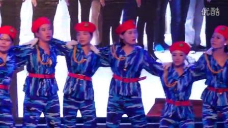 东阳市宇鹏制衣有限公司2015年《抱团赢天下》士气展示服装优秀团队阳光队