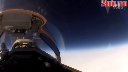 米格-29战斗机飞行 - Flight to the edge of space on MiG-29 jet fighter in Russia