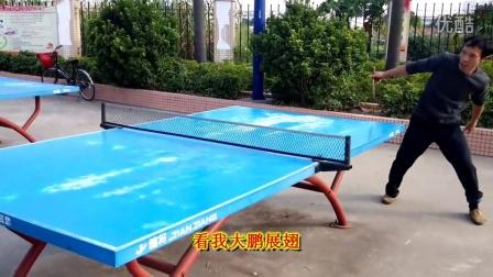 惊呆了 竟然把乒乓球打出太极拳的动作 同时也有广场舞的英姿