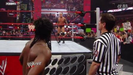 """小牛老板库班客串WWE裁判 """"壮汉""""奥顿被黑哭笑不得"""