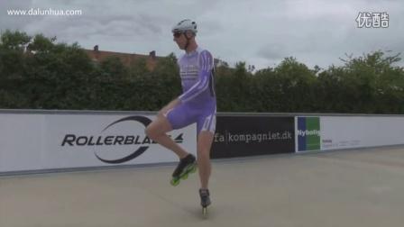 [大轮滑网]SK8速度轮滑系列视频教程-起跑篇
