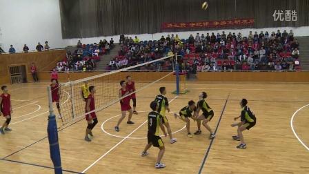 重庆市2015中学生排球比赛暨华中学VS育才中学(高中组1:3)