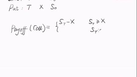 期权平价公式的简单推导