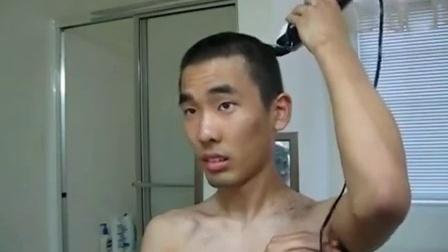 帅男剃光头61