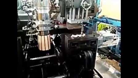 宝捷EB50H75-45D1全自动挤出吹瓶机生产花纹洗手壶