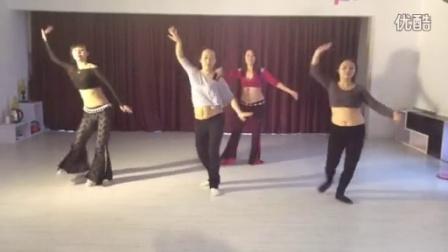 舞码班hip shimmy练习曲课堂2