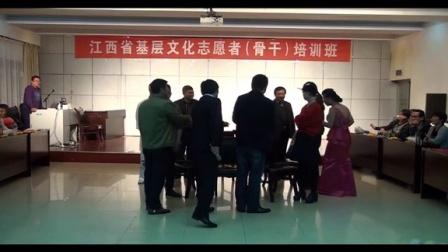 2015年江西省基层文化志愿者(骨干)培训班第九期综艺班第十三期书法班联欢晚会