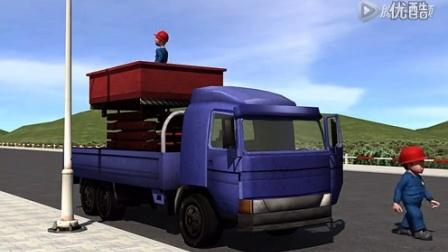 【图讯安全提示】看动画片,学高空作业车的安全操作规程!