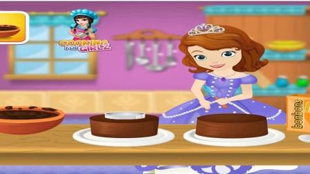 小公主苏菲亚 苏菲亚为做了个神奇的爱情蛋糕益智游戏