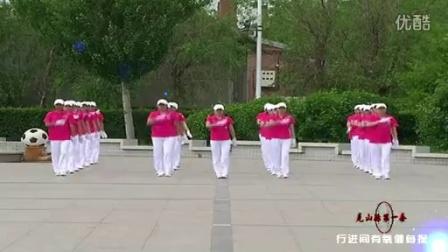 克山县快乐舞步健身操