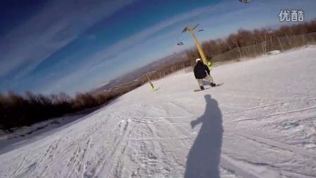 15-16雪季 开板 长城岭 首滑