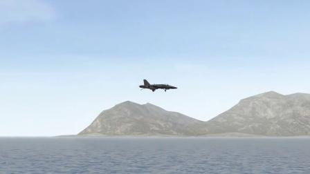 F18着舰
