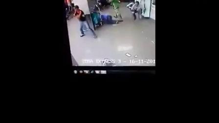 银行抢劫被暗藏警察击毙