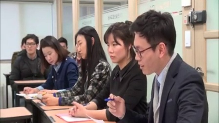 韩国大学生模拟谈判视频