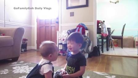 【发现最热视频】不得了啊!小孩子都知道吻咚哄孩子不哭