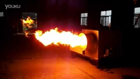山东聊城用户使用自动清灰式生物质颗粒燃烧炉