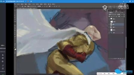 【幻画CG】NAN《数字绘画基础教程》第六节(2015.11.17)速涂演示
