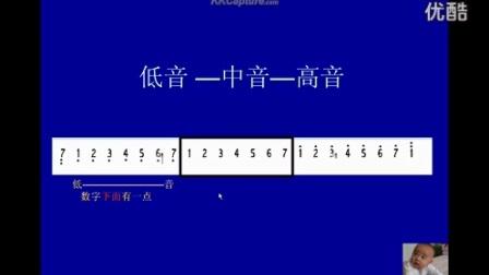 2  简谱  基本音阶教学_ 伯乐音乐教程_标清
