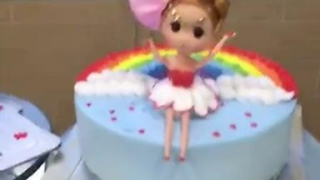 韩服 蛋糕 芭比公主 烘焙