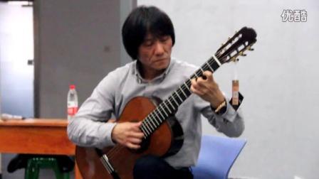 吉他大师陈宝忠 佳木斯讲学演奏