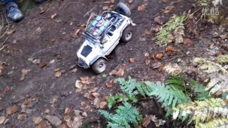 RC Traxxas Summit 8x8 and AXIAL SCX10 Trail Adventures
