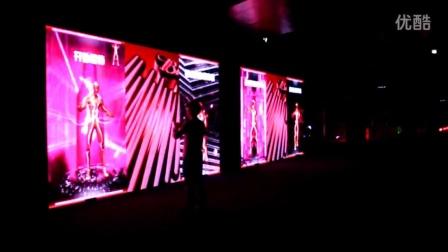 百威啤酒-Kinect体感