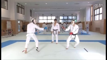 Naniwa Highschool Karate training2