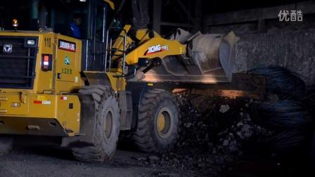 百战英雄徐工500K十二季:钢厂废钢钢渣处理堆垛