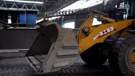百战英雄徐工500K十三季:LNG钢厂废渣处理装车