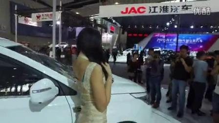 2015广州车展车模,大疆灵眸OSMO试拍