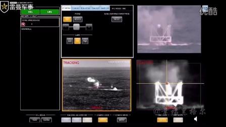 美国海军舰载激光武器针尖精度命中靶标