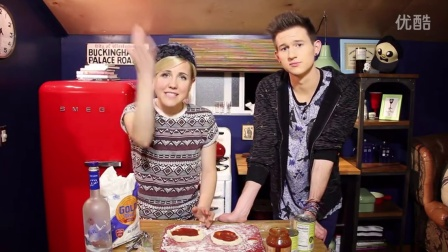 MY DRUNK KITCHEN Pizza Pie Chart! (ft. Ricky Dillon!)|MyHarto|151126