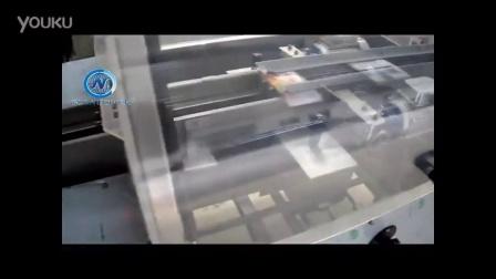 曲奇饼干在线热熔胶封盒机