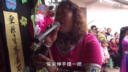 贵州农村丧葬风俗 龙广花灯 精彩节目选段 苦情歌