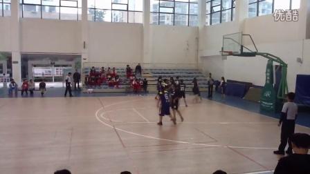2015年贵阳市青少年篮球锦标赛九中vs清镇四中2