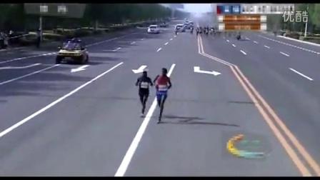2013年东营国际马拉松赛_陆地方舟新能源电动汽车视频展示 第四集