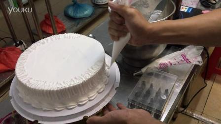 新思味甜品培训学校,生日蛋糕裱花  生日蛋糕裱花制作 芝士蛋糕裱花