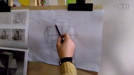 少儿素描入门—几何体QQ:3053076205
