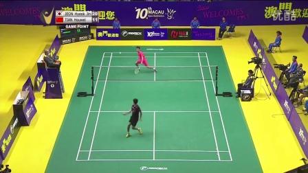 2015澳门羽毛球公开赛决赛精华