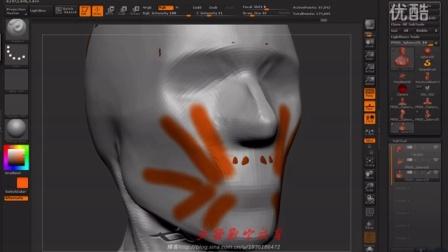 人体结构002头颈肩关系演示与讲解下
