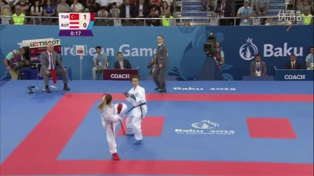 Serap Ozcelik defeats Bettina Plank -Gold _ Baku 2015 European Games