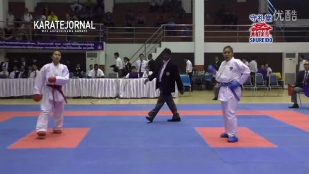 SEAKF2015 FINAL OF KUMITE_Female-68,-61,-55,Male-75,-67&Female Kata
