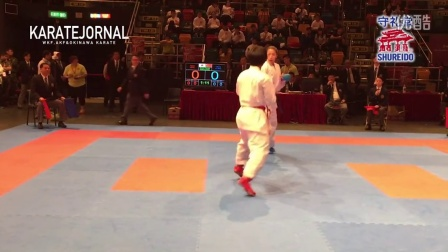 EAKF2015 Female Team Kumite FINAL JAPAN VS CHINA 女子决赛 日本队 vs 中国队