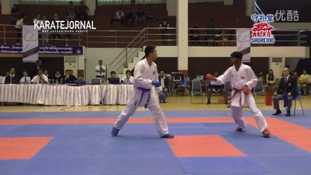 SEAKF2015 FINAL OF TEAM KUMITE _ Male & Female