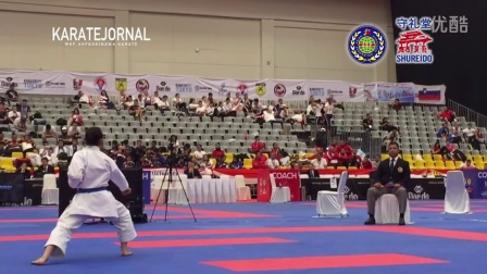 WKF2015 Cadet Kata Female World champion TANO KEITO (JPN)