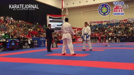 WKF2015 Junior Kumite Male -76 kg World champion MUHAMMAD_FAHMI SANUSI (INA)